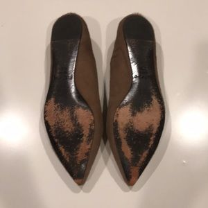 Elizabeth and James Shoes - Elizabeth and James Pony Hair Pointed Flats (8.5)